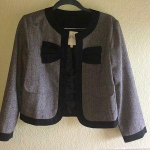 Bow and Arrow tweed blazer